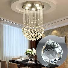 clear crystal prism fashionclubs 20mm crystal chandelier hanging faceted ball rainbow drop prisms pendant suncatcher for wedding decor