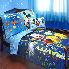 mickey mouse toddler bed set mickey mouse space adventures 4 piece toddler bedding set mickey mouse