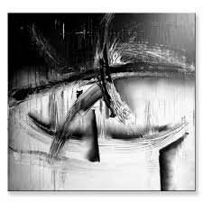 black and white abstract art for