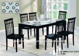 Glass top dining sets Grey Glass Top Dining Table Wooden Dining Table With Glass Top Dining Sets Alibaba Glass Top Dining Tablewooden Dining Table With Glass Topdining