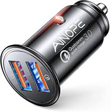 AINOPE USB Car Charger, [Dual QC3.0 Port] 36W/6A ... - Amazon.com