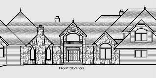 LOVE This House Plan 3900 Sq Ft All Bedrooms On One Floor Small Four Car Garage House Plans