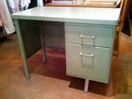 small metal desk green vintage metal desk also awesome small inspirations