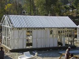 Steel Framed Houses Yellow Modular Homes Light Steel Frame Prefab House Kits For Living