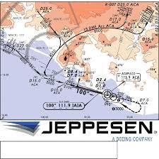 Jeppesen Chart Training Jeppesen Navigation Chart Understanding