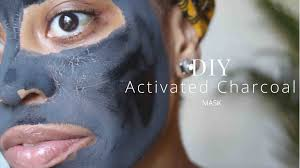 diy charcoal mask without clay