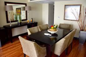 mount meru hotel room dining table