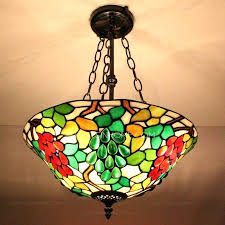 stained glass chandelier for vintage stained glass chandelier for