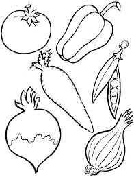 Coloring Pages Of Vegetables Coloring Pages Of Vegetables Vegetable