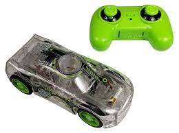 Light Up Marble Racer Marble Racers R C Remote Control Light Up Rechargable Rear Wheel Drive Race Car With Easy Turn Technology For Any Hard Surface Green