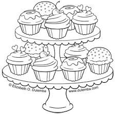 Small Picture In This Awesome Coloring Page Minnie Is Cooking A Wonderful Cake