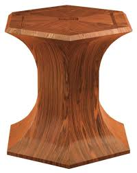 Dining Room Ivory Wood Pedestal Table Base For Round Table Top