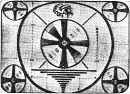 Indian Head Test Pattern Inspiration The Television Test Pattern January 48 Radio Television News