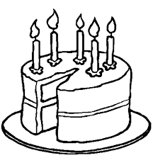 birthday cake slice drawing. Delighful Drawing Birthday Cake Slice Drawing 3 With Cake Slice Drawing D