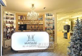 salon lighting ideas. beauty salon reception interior lighting ideas