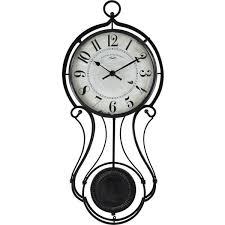 black harwick pendulum wall clock