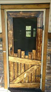 i love the way this screen door looks it doesn t come with a tutorial but if you are familiar with making things yourself then hopefully you can figure