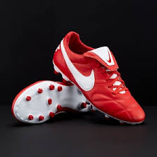 nike football boots. nike premier ii fg - university red/white football boots c