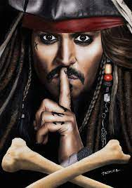 Captain Jack Sparrow Anime Fanart HD ...