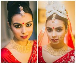 abhijit chanda bengali bride makeup