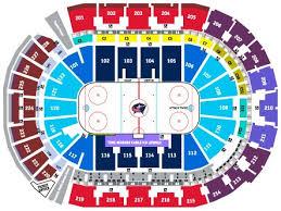 Nationwide Arena Columbus Ohio Seating Chart Nationwide