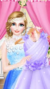 bridal boutique beauty salon wedding makeup dressup and makeover games screenshot on