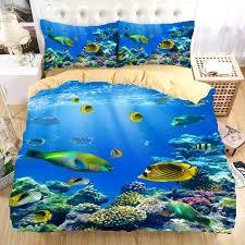 ocean bedding ocean fish bedding set ocean style bedding sets