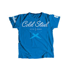 ≡ <b>Футболка Cold Steel</b> Cross Guard Blue Tee for Women M TK2 ...