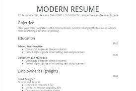 Free Printable Resume Templates Microsoft Word Brilliant Ideas Of