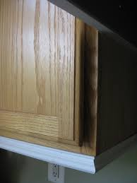 Under Cabinet Molding Adding Moldings To Your Kitchen Cabinets Cabinets Look At And