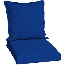 pacific blue standard patio chair cushion at