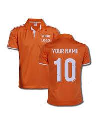 Orange - Merchandise Sports Color Evince Design Zeal Jersey