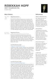 registered nurse resume samples nurse resume examples