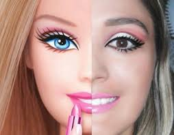 barbie inspired makeup did you do a double take like i did yeah it 39 s