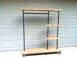 Black Pipe Coat Rack Plumbing Pipe Clothes Rack Wardrobes Clothes Rack From Ceiling Your 64