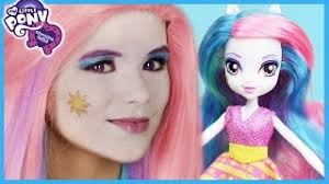 my little pony princess celestia makeup tutorial equestria doll cosplay kittiesmama