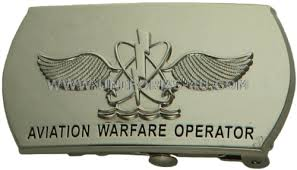 U S Navy Naval Aircrewman Aw Buckle