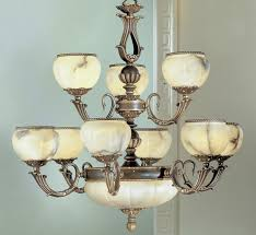 alexandria i collection 12 light large alabaster chandelier