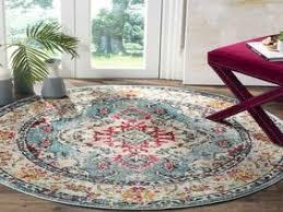 6 ft round rug. La Jolla Gray 6 Ft X Round Rug - Distressed