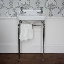 burlington edwardian cloakroom basin with wash stand
