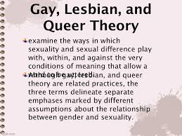 Gay lebsian queer theory