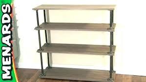 metal and wood bookcase diy bookshelf bookshelves furniture engaging shelf winsome