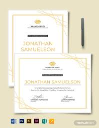 Employee Of The Month Award Employee Of The Month Award Certificate Template Word