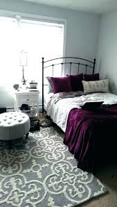 grey and silver bedroom decor purple room with accents decorating ideas deco