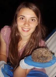 Rebecca and her Hedgehog family Photo: Alyson Lloyd. 12 November Over on Oldwood Common, ... - clip_image001_016