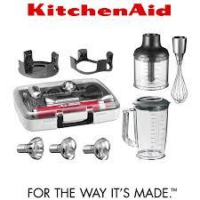 kitchenaid hand mixer attachments. kitchenaid - artisan cordless hand blender with accessories kitchenaid mixer attachments