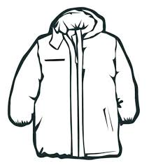 winter coat coloring page pages of coats clothes for kids colouring winter coat coloring page