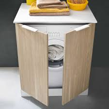 Waschmaschinenschrank Für Badmöbel Der Serie Atlantic Diotticom