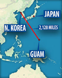 Image result for 4 strikes around guam map