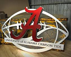 >wall art design ideas alumunium big large alabama wall art signs  alumunium big large alabama wall art signs surprising football sporting strong durable outdoor exterior